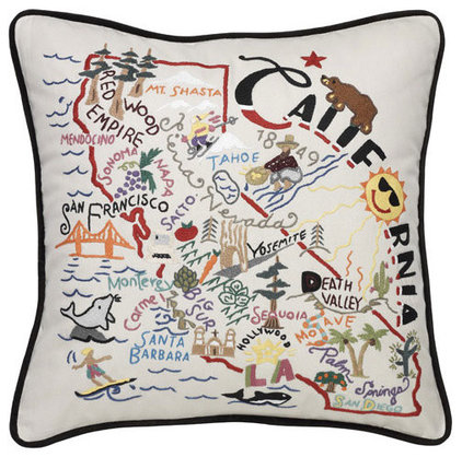 eclectic pillows by artwalkboone.com