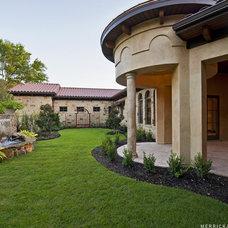 Mediterranean Patio by Design Visions of Austin