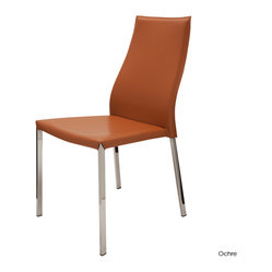 Eric Dining Chair, Set of 2, Ochre