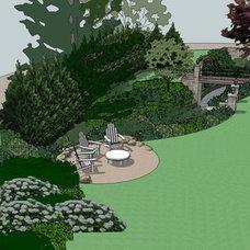 Eclectic  by Westover Landscape Design, Inc.