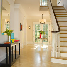 Contemporary Entry by Bruce Norman Long Interior Design