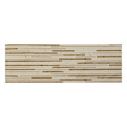 """Arctic Honed Textured Field Tile - Dimensions: 4""""H x 12""""W x 3/8""""D"""