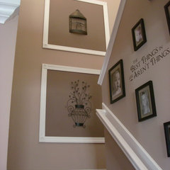 traditional staircase by Thrifty Decor Chick