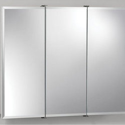Broan-Nutone Ashland Tri-View 30W x 26H in. Surface Mount Medicine Cabinet 75528 - If you're ...