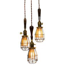 Chandeliers by Junkyard Lighting
