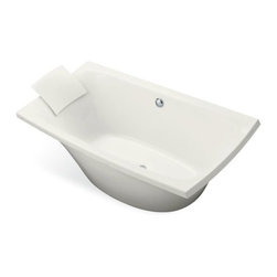 "KOHLER - KOHLER K-11344-0 Escale Freestanding Bath in White - KOHLER K-11344-0 Escale Freestanding Bath in WhiteWith integral lumbar support and extra spacious 36"" width, the Escale Freestanding bath is ideal for a relaxing soak after a long day.Please see our Delivery Notes for Freight Shipments for products that are oversized and/or are too heavy to ship UPS ground. KOHLER K-11344-0 Escale Freestanding Bath in White, Features:• 72""L x 36""W x 24""H"