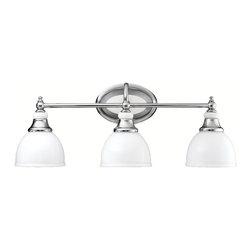 Kichler Lighting - Kichler Lighting 5369CH Pocelona Chrome 3 Light Vanity - Kichler Lighting 5369CH Pocelona Chrome 3 Light Vanity