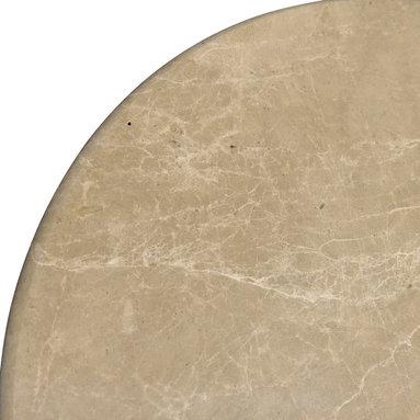 SCABOS TILE - Emparador Marble Corner Shelf - Emparador marble, both side polished, bathroom corner shelf.