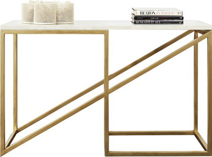 modern side tables and accent tables by Dering Hall