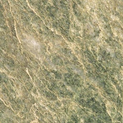 Costa Smerelda - People are really drawn to this granite, it has an almost topographical quality that is really attractive. The greens are easy to work with in a variety of kitchen designs.