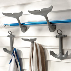 Contemporary Hooks And Hangers by FRONTGATE