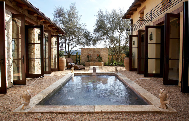 Mediterranean Outdoor Fountains And Ponds by Neolithic Design LA