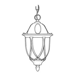 """Designers Fountain - Designers Fountain 2864-AG 1 Light 11"""" Cast Aluminum Hanging Lantern from the Ca - Features:"""