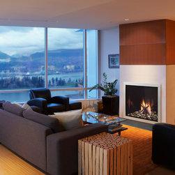 Fireplaces - Heat & Glo Lux 36