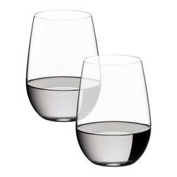 Riedel - Riedel O Riesling/Sauvignon Blanc Glasses - Set of 2 - Stylish, practical and fun. Riedel O is the original varietal specific wine tumbler. Gift boxed in pairs. non lead, machine made.