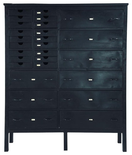 eclectic bookcases cabinets and computer armoires by Maisons du Monde