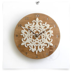 contemporary clocks by Decoylab