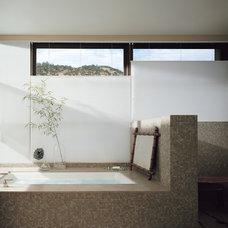 Asian Bathroom by Ashley Hall Interiors