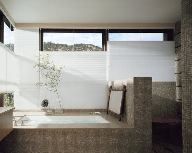 Asian Bathroom by Ashley Hall Interiors