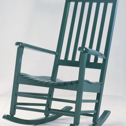 International Concepts R-51865 Porch Rocker - There's just something about a porch and a rocking chair, isn't there?