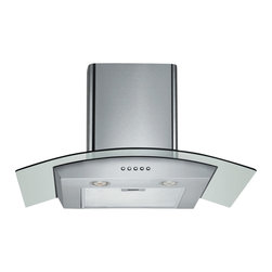 Spagna Vetro - Spagna Vetro 30, SV198D-30 Wall-Mounted Stainless Steel Glass Range Hood - Mounting version - Wall Mounted