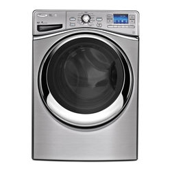 Whirlpool - WFL98HEBU Smart 4.3 Cu. Ft. Capacity Front Load Washer with 6th Sense Live techn - This Front Load Washer with 6th Sense Live technology allows users to stay connected With FanFresh Option Assistant one of many Smart Assistant features that allows for activation of specific options while not home Smart Stats allow easy access in th...