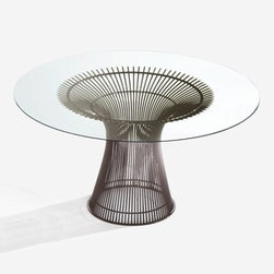Knoll - Knoll | Platner Dining Table - Design by Warren Platner, 1966.