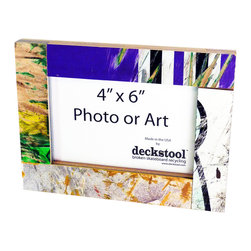 Deckstool - Recycled Skateboard Picture Frame for 4x6 Photo or Art by Deckstool - New Recycled Skateboard Frames by Deckstool.