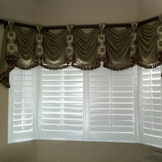 Eclectic Window Treatments by Curtain Pros