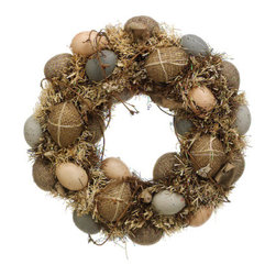 Silk Plants Direct - Silk Plants Direct Easter Egg Wreath (Pack of 3) - Pack of 3. Silk Plants Direct specializes in manufacturing, design and supply of the most life-like, premium quality artificial plants, trees, flowers, arrangements, topiaries and containers for home, office and commercial use. Our Easter Egg Wreath includes the following:
