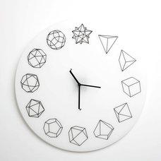 Contemporary Clocks by Paula Studio
