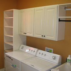 Traditional Laundry Room by Custom Storage Solutions