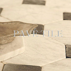 Traditional Floor Tiles by Pavé Tile, Wood & Stone, Inc.