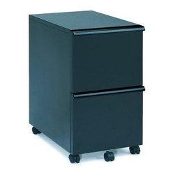 New Spec - Black Finish File Cabinet w Key Lock - Color/Finish: Black. Material: Metal. Key Lock. . 14.8 in. L x 19.89 in. W x 26.77 in. H (60 lbs)