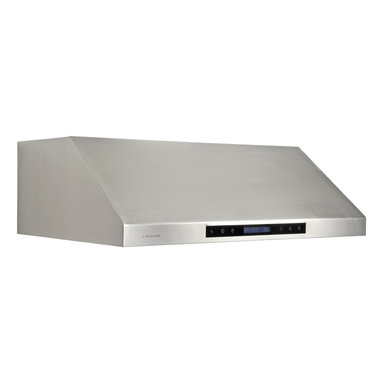 Cavaliere - Cavaliere Under Cabinet Hood - Under Cabinet Range Hood with 4 Speeds, Timer Function, LCD Keypad, Baffle Filters, and Halogen Lights