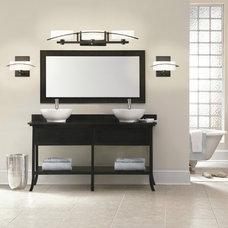 Contemporary Bathroom Vanity Lighting by Ferguson Bath, Kitchen & Lighting Gallery