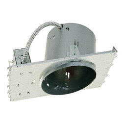 "NATIONAL BRAND ALTERNATIVE - Recessed Light Can 6"" Slop New Con Non IC Rated - Features:"