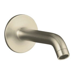 KOHLER - KOHLER K-14426-BN Purist Wall-Mount Non-Diverter Bath Spout, 35 Degrees - KOHLER K-14426-BN Purist Wall-Mount Non-Diverter Bath Spout, 35 Degrees in Brushed Nickel