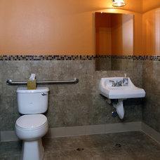 Modern Bathroom by Jennifer Nicole Anderson, LLC