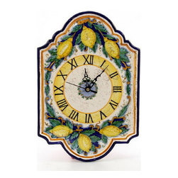 Artistica - Hand Made in Italy - Rustica: Wall Clock - Rustica Collection: