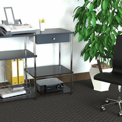 Convenience Concepts - Convenience Concepts Storage X-434131 - With lots of storage space available, and the Convenience of No Tools Assembly, this Console is the perfect addition for any home, office or even student.