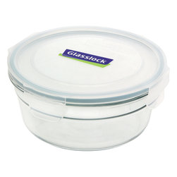 Glasslock Oven Safe Round 5.4 cup - Oven-safe and microwavable