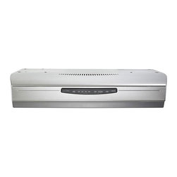 Broan - Broan Allure III 30-inch Stainless Steel Under-cabinet Range Hood - This 4-speed ultra-quiet range hood is the perfect addition to your gourmet kitchen. Stainless steel makes this Broan range hood sleek and stylish.