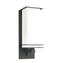 PLC Lighting - PLC Lighting Outdoor Lighting. 1-Light Outdoor Oil Rubbed Bronze Wall Sconce wit - Shop for Lighting & Fans at The Home Depot. Contemporary Beauty is a line of quality new age fixtures that appeal to your more affluent side. This line is sure to universally please by offering fixtures with halogen, CFL, or standard incandescent bulbs. With a selection that ranges from unique wall sconces to luxuriant chandeliers, available in the lamp options you desire, Contemporary Beauty has the variety and style to ensure you will find the perfect fixture to showcase the allure of any room.
