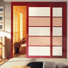 Contemporary Bedroom by DAYORIS DOORS / PANELS