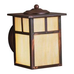 Joshua Marshal - One Light Canyon View Wall Lantern - One Light Canyon View Wall Lantern