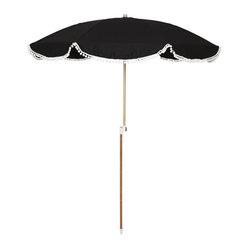 pom pom umbrella i d to to be beside the seaside