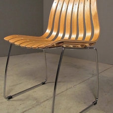 eclectic dining chairs and benches by red - modern lines . vintage finds