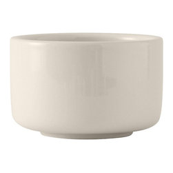 Tuxton - DuraTux 12 oz Unhandled Soup Cup Eggshell - Case of 24 - DuraTux offers the widest selection of ceramic ovenware and accessory items in the industry. Our products are designed to handle the demands of any fastpaced environment  without breaking your budget. As with our dinnerware products all our ovenware items are fully microwavesafe, ovenproof, and dishwasherfriendly. The highest quality with exceptional durability are key ingredients that go into making our ovenware.