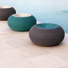 Modern Ottomans And Cubes by Lebello - Modern Outdoor Living